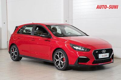 Hyundai I30 N 2,0 T-GDI - Kahdet renkaat ja jopa 250hv! RAHOITUSTARJOUS 0,9% EI MUITA KULUJA, vm. 2018, 1 tkm