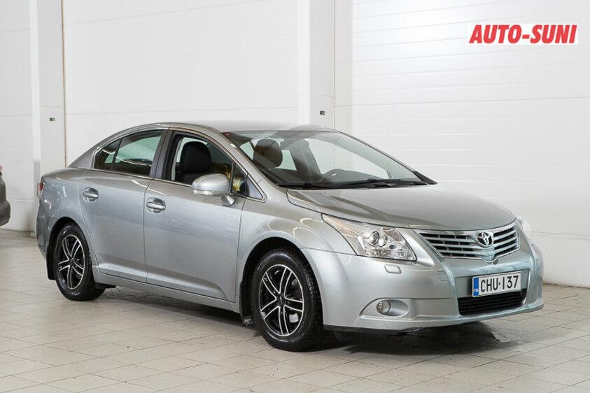 Toyota AVENSIS 1,8 Valvematic Sol Edition 4ov, vm. 2010, 106 tkm